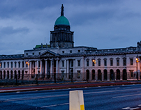 Morning in Dublin City