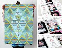 ›Cystal Docks‹ Logo and Poster   Art Direction/Design