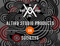 Altiro Studio products on Society6