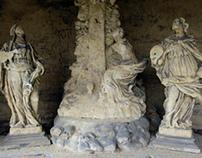 Baroque Calvary - As build sculptures 3D model