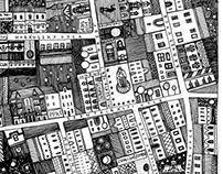 Map - Budapest, Palace Quarter