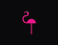 Funky Flamingo Logo