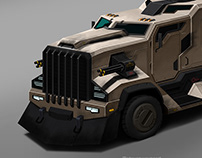Armored Miltary Vehicle