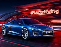 Audi e-Tron Campaign 2015 Print