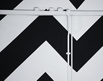 'V' Mural
