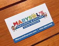 Marysol's Preschool & Daycare | Design Collateral