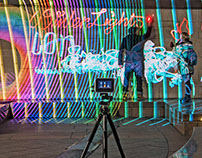 LUMAPAINT - INTERACTIVE LIGHT GRAFFITI