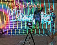 LUMAPAINT - INTERACTIVE LIGHT GRAFFITI