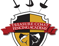 Logo: Treasure Coast Fencing Academy