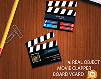 Real Object Movie Clapper vCard
