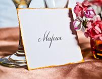 Wedding name cards/ Сватбени картички с имена