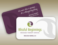 Blissful Beginnings Brand Identity