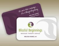 Blissful Beginnings Brand Identity