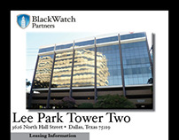 Leasing Flyer for Lee Park Tower Two