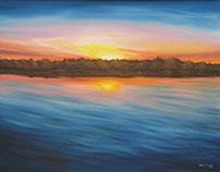 Grass Lake : Sunsets