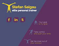 Personal Trainer - Web Design