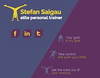 Personal Trainer - Web Design
