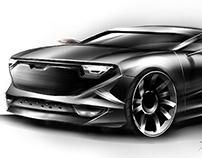 Dacia concept car