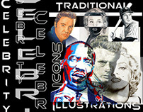Traditional Art: Icons / Celebrities