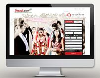 Shaadi.com Redesign