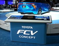 Toyota FCV Info Counter