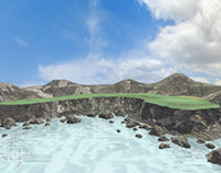 3D Terrain (Golf Course)