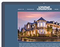 Longman Construction Website