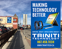 Trinti Technology hording