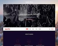 Last.fm - redesign