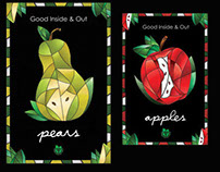 Foodland Fruit Posters