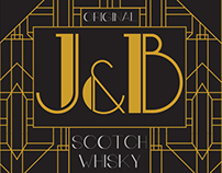 J&B Scotch Whisky Design