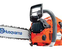 Gradient Mesh Chainsaw 2D