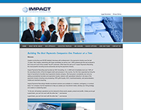 Impact Recruiting Group Brand Identity and Website