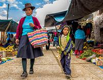 Día de mercado - Uranmarca, Apurímac