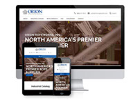 North American Rope Supplier Website Design