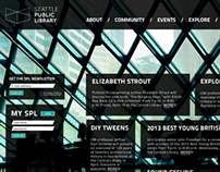 Seattle Public Library website redesign