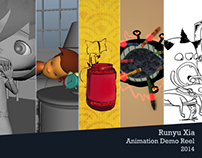 Animation DemoReel 2014