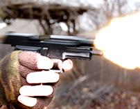VFX test - Gunfire