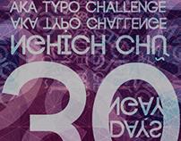 30 Days Typo Challenging