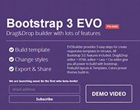 Bootstrap 3 drag&drop UI builder by @Bootstraptor