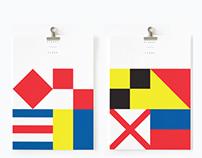 Signal Flag Prints