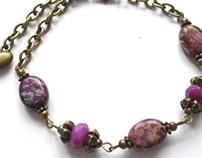 Bracelet with jasper