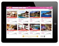 Asia Web Direct iPad Site UI