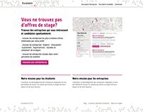 Euratalent - Design of a new kind of job board