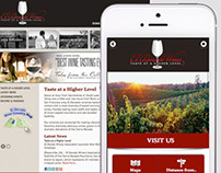 El Dorado Winery Mobile Site