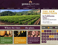 Sierra Vintners Winery Website