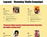 Legrand | Radio Campaign