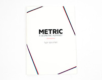 Metric type specimen (updated)
