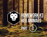Homework #3 / Hex Animals, Part II