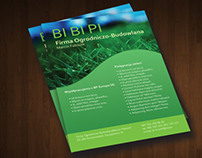 Flyer for BI BI PI